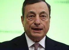 """Draghi anticipa uns """"estímuls addicionals"""" en les properes setmanes si no milloren les perspectives (EUROPA PRESS - Archivo)"""