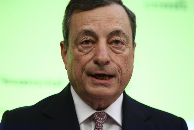 El presidente del Banco Central Europeo (BCE), Mario Draghi