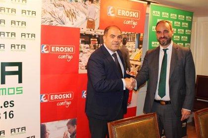Eroski y ATA firman un aucerdo para impulsar el emprendimiento