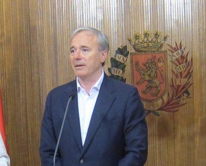 """El alcalde de Zaragoza señala que el reparto de áreas """"no va a tardar demasiado"""""""
