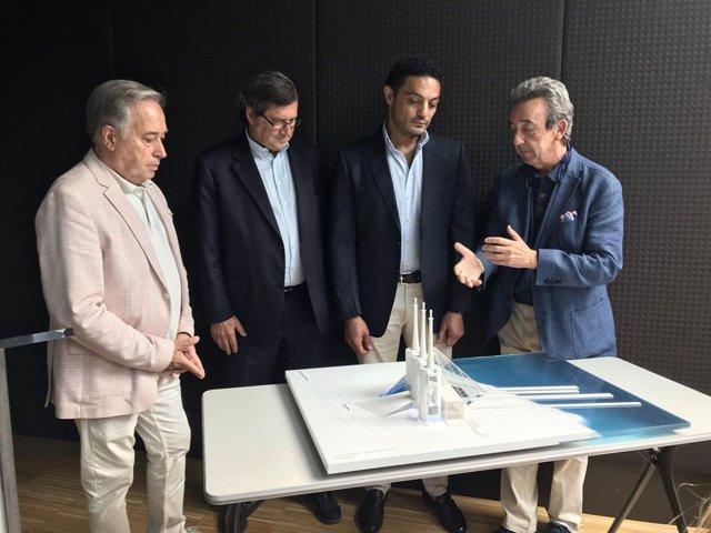 Un promotor egipci proposa construir una pirmide de cristall en les Tres Xemeneies del Bess