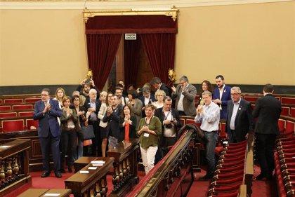 El Senado acepta las fórmulas de senadores independentistas para acatar la Constitución y el PP anuncia recurso
