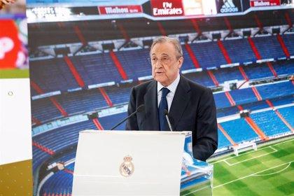 """Florentino Pérez: """"Rodrygo es uno de esos jóvenes prodigios talentos"""""""
