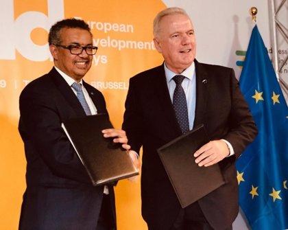 La UE da 123 millones de euros a la OMS para iniciativas que fomenten la cobertura universal de salud