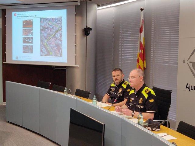 AMP.- Successos.- Identifiquen al sospitós d'atropellar un jove i fugir en Cap d'any a Barcelona