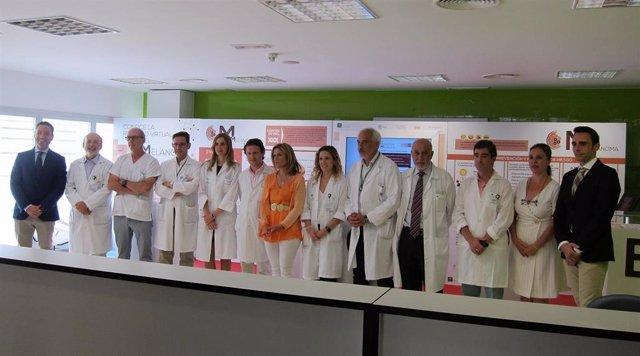Jaén.- El Hospital acoge una campaña para concienciar sobre el melanoma y fomentar su prevención