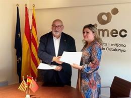 Pimecomerç signa un acord amb la patronal marroquina 'Fédération du Commerce et Services'