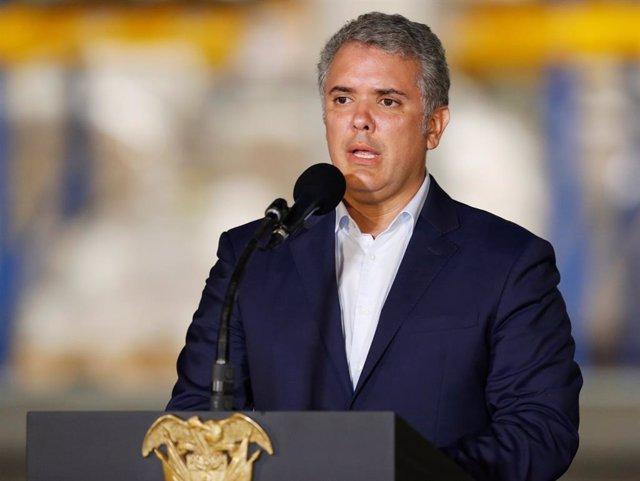 """Colombia.- Duque expresa su """"respeto"""" por la iniciativa ciudadana que busca un referéndum sobre la JEP"""