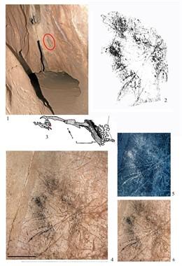 """Atribuyen a """"una mujer o un niño"""" la autoría de una pintura rupestre descubierta en la cueva gibraltareña de Gorham"""
