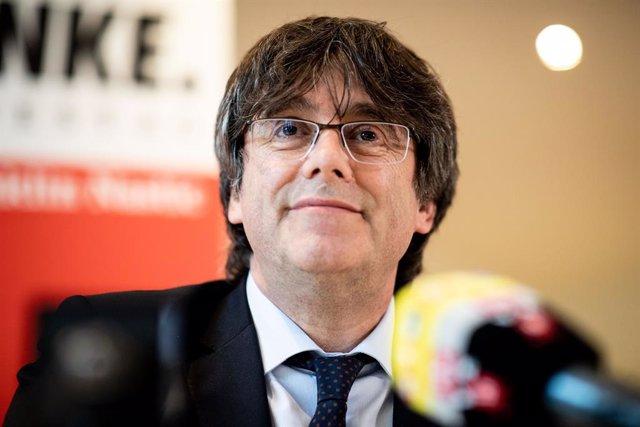 Catalan separatist leader Carles Puigdemont in Germany