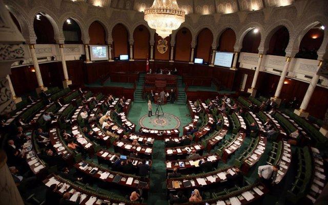 Vista general del Parlamento de Túnez