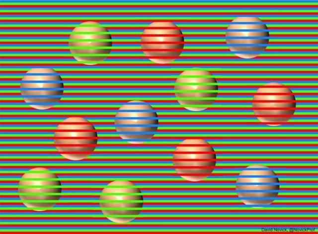 ¿De Qué Color Son Las Bolas? Una Ilusión Óptica Impide Que Las Veas Todas De Color Marrón
