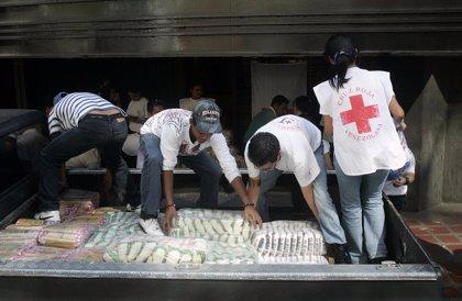 Venezuela recibe el segundo envío de ayuda humanitaria de Cruz Roja