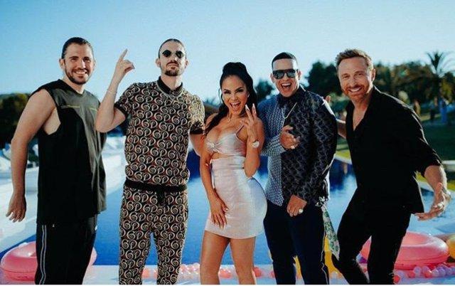 Daddy Yankee y Natti Natasha se alían con David Guetta, Dimitri Vegas y Like Mike para 'la canción del verano'