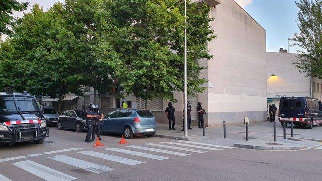 Successos.- Operació contra el trànsit de drogues al Prat de Llobregat (Barcelona)