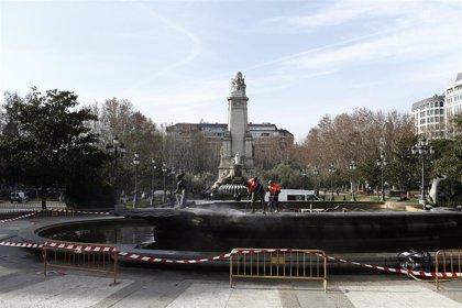 La Comunidad de Madrid levanta la paralización de las obras municipales en la Plaza de España