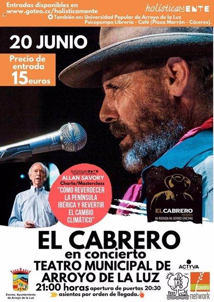 El ecólogo Allan Savory ofrece este jueves en Arroyo de la Luz (Cáceres) una charla sobre cambio climático