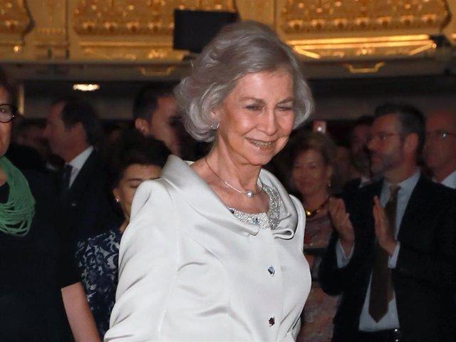 La Reina Sofía clausura el año académico de la escuela superior de música con su nombre