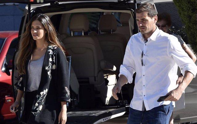 Casillas y Carbonero, juntos en una nueva revisión médica de Sara