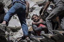 L'escalada de violència al nord-oest de Síria deixa ja 230 civils morts i 330.000 desplaçats (Anas Alkharboutli/dpa)
