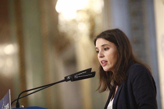 """Montero admet els """"mals resultats"""" d'Unides Podem, però insisteix que són """"decisius"""" per formar Govern"""