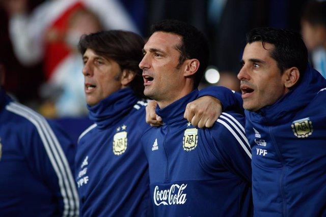 Soccer: International friendly - Argentina v Venezuela