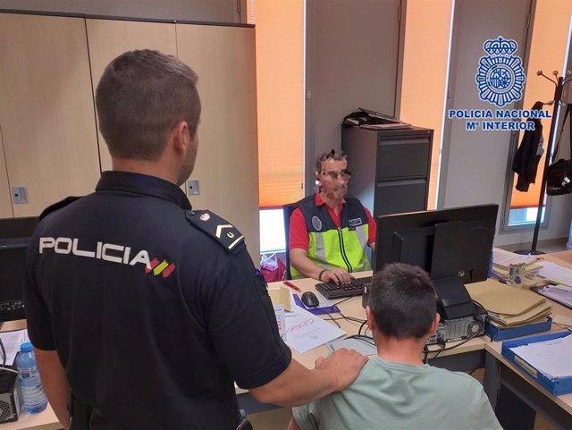 Sucesos.- Detenido en Lorca un estafador quien se hacía pasar por comercial de una empresa de seguridad privada
