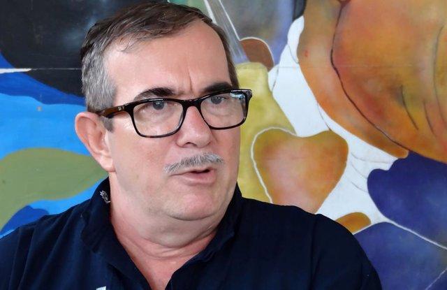 El líder de las FARC, Rodrigo Londoño Echeverri, 'Timochenko'