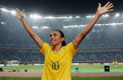 La brasilera Marta, màxima golejadora dels Mundials després de superar Klose (LALIGA - Archivo)