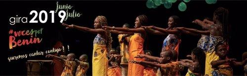 El coro infantil 'Voces por Benin' llega este miércoles a Madrid para visibilizar la situación de la infancia en África