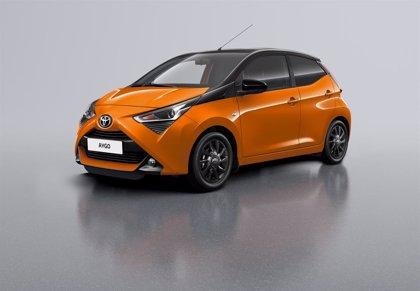 Toyota pone a la venta en España el Aygo x-cite, con carrocería naranja y techo negro