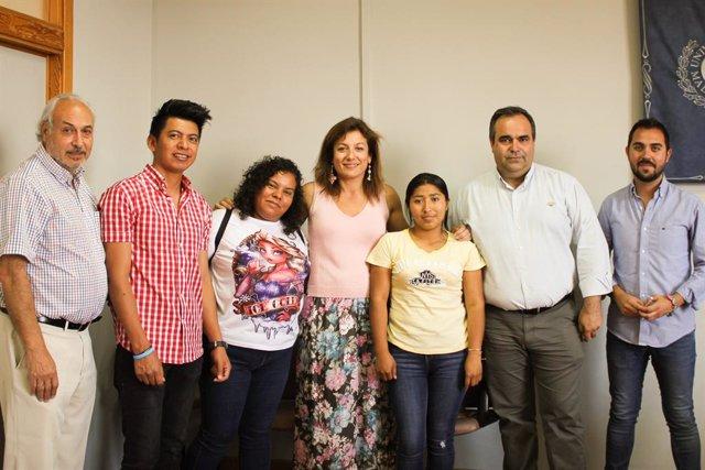 Málaga.- Estudiantes hondureños concluyen su estancia de Movilidad Internacional en la UMA