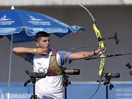 El tirador con arco Miguel Alvariño, abanderado español en los Juegos Europeos en Minsk