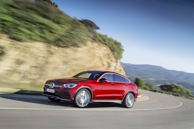Economía/Motor.- Mercedes-Benz inicia la venta en España del renovado GLC Coupé