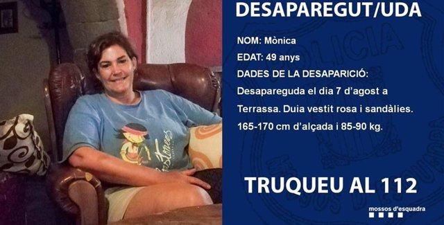 Un detingut per la desaparició d'una dona a Terrassa (Barcelona)