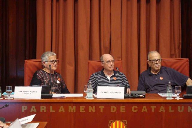 Ángel Hernández diu que confia que Espanya legisli sobre eutansia en una jornada en el Parlament