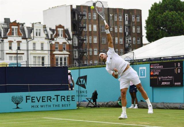 Tenis.- Feliciano López remonta en Queen's y se cita con Del Potro en segunda ronda