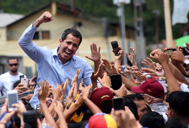 Venezuela.- Guaidó convoca a los venezolanos a manifestarse este viernes, al término de la visita de Bachelet