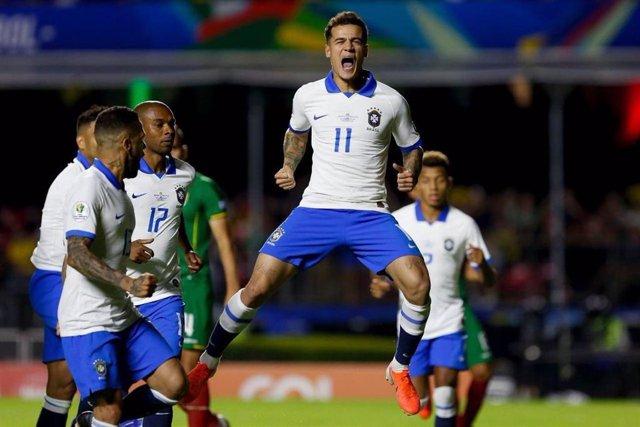 Coutinho tira de Brasil en el estreno de la Copa América