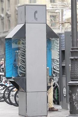 Cabina telefónica, Telefónica