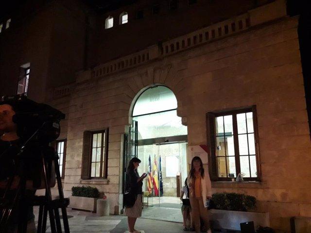 Las negociaciones al Govern continúan en el Consolat sin acuerdo entre PSIB, MÉS y Podemos