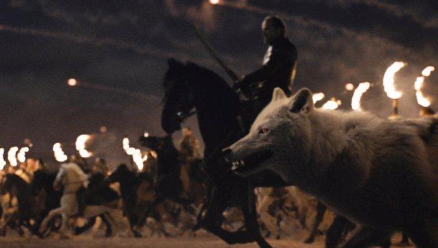Juego de tronos: 50 huargos contra un dragón, así pudo ser la Batalla de Invernalia