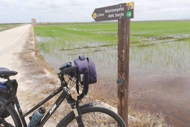 Turismo.- Colectivos probicicleta piden a la Generalitat trazados atractivos y funcionales para el cicloturismo