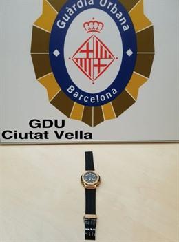 Successos.- Detenen al presumpte lladre d'un rellotge de 30.000 euros i ho retornen a la víctima
