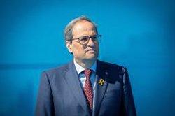 Quim Torra ofereix a Ximo Puig reunir-se amb ell a Barcelona o València (David Zorrakino - Europa Press)