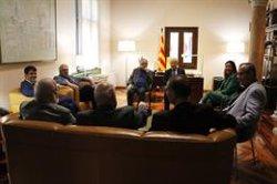 La Diputació de Barcelona celebra 40 anys d'ajuntaments democràtics amb tots els seus expresidents (ACN)