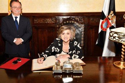 """Carcedo cree que el TAC financiado por Amancio Ortega permitirá dar """"un salto cualitativo"""" a la sanidad pública en Ceuta"""