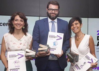 Cristina Saez, Daniel Vidal y Esther Paniagua, ganadores de la XX Edición del Premio de Periodismo Accenture