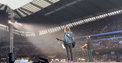 VÍDEO: Metallica versiona a The Stone Roses en Manchester