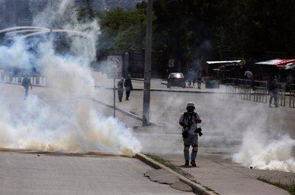 Dos muertos en las protestas contra Hernández en Honduras